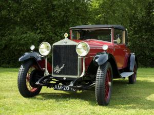 1928 Alfa Romeo 6C 1500 Drophead Coupe by James Young
