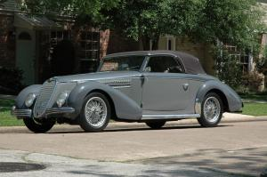 1940 Alfa Romeo 6C 2500 Sport Cabriolet by Graber
