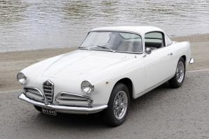 Alfa Romeo 1900C Super Sprint Coupe by Touring 1957 года