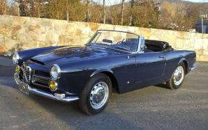 Alfa Romeo 2600 Spider by Carrozzeria Touring 1963 года