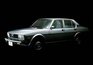 Alfa Romeo Alfetta Sports Sedan 1977 года