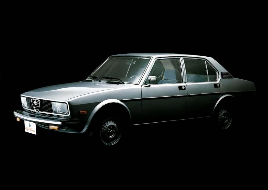 Alfa Romeo Alfetta Sports Sedan (116) (JP) '1977 - 78