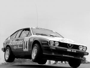 1983 Alfa Romeo GTV 6 2.5 Group A Rally