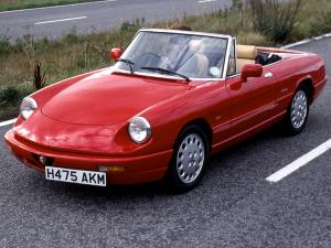 1990 Alfa Romeo Spider 2.0 RHD conversion by Seaking