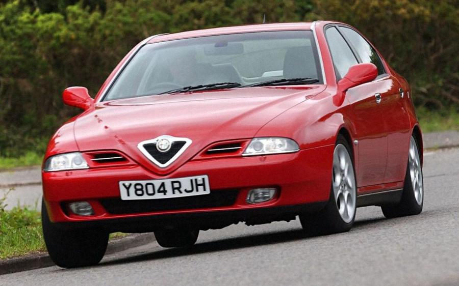 Alfa Romeo 166 (936) (UK) '1999 - 2004