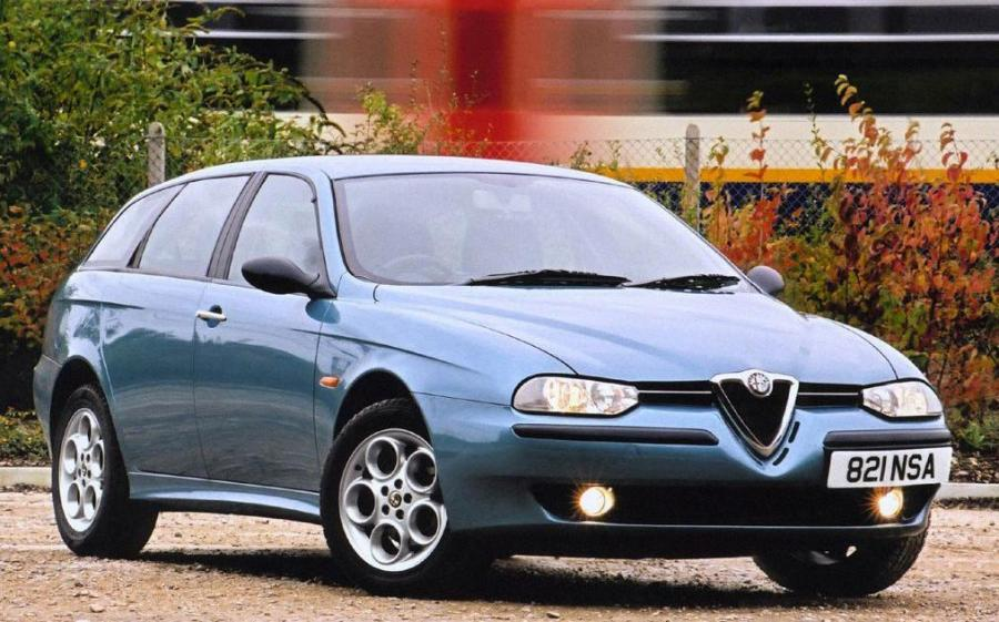 Alfa Romeo 156 Sportwagon (932B) (UK) '2000 - 02