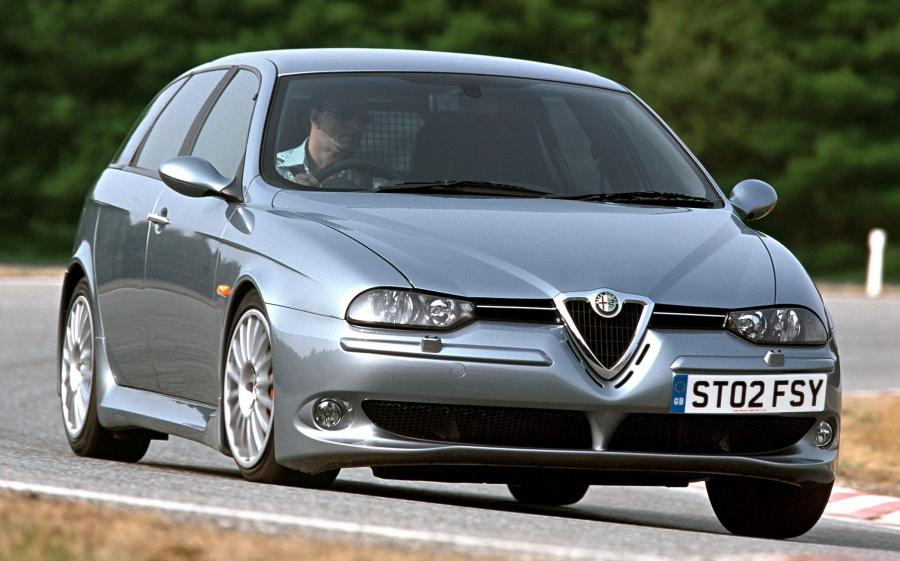 Alfa Romeo 156 Sportwagon GTA (932B) (UK) '2002 - 05