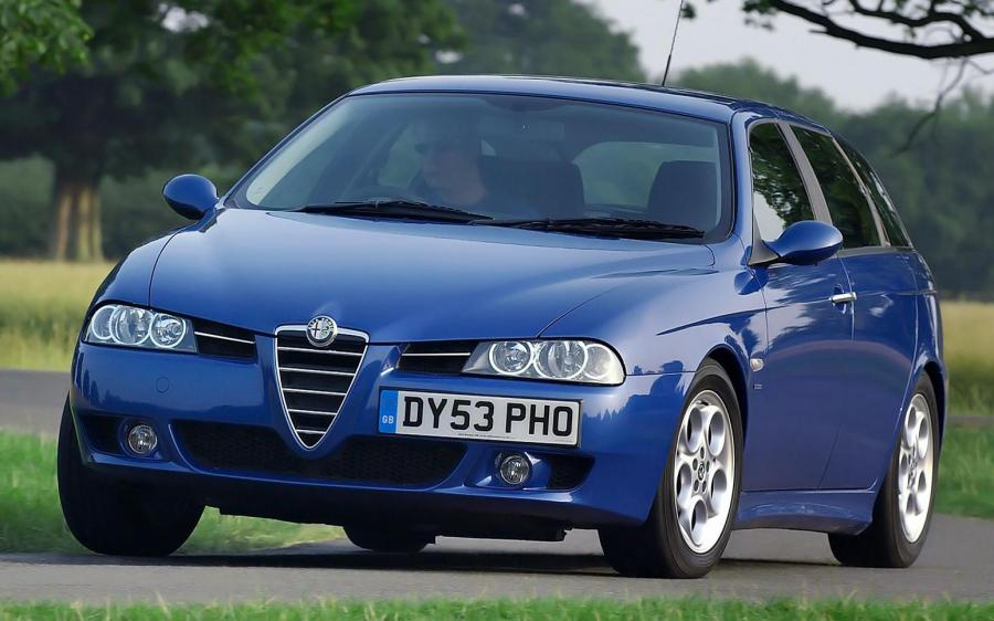 Alfa Romeo 156 Sportwagon (UK) '2003 - 05
