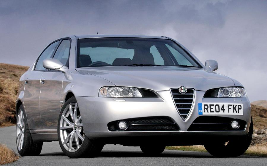 Alfa Romeo 166 TI (936) (UK) '2004 - 05
