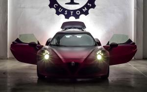 Alfa Romeo 4C La Furiosa by Garage Italia Customs 2015 года