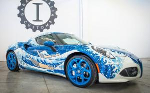 Alfa Romeo 4C Great Wave by Garage Italia Customs 2016 года
