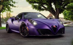 Alfa Romeo 4C Centurion The Royal Mystique by Pogea Racing 2017 года