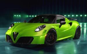 Alfa Romeo 4C Centurion Green Arrow by Pogea Racing 2018 года