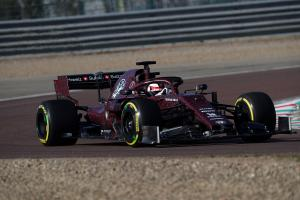 Alfa Romeo C38 with a Special Love Livery 2019 года
