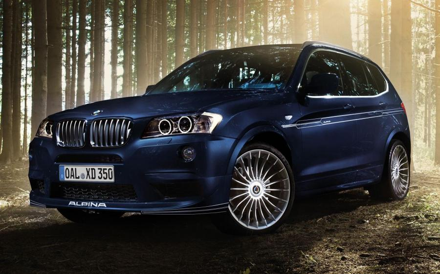 Alpina XD3 Bi-Turbo (F25) '2013 - 14