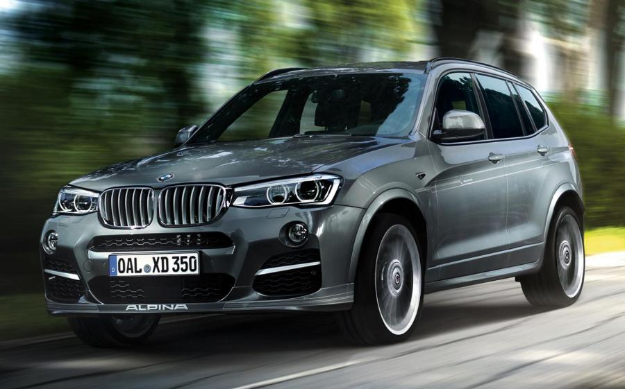 Alpina XD3 Bi-Turbo (F25) '2014 - 17