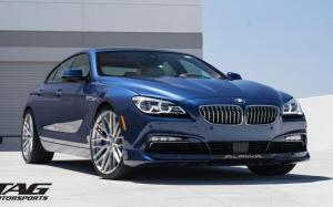 Alpina B6 Gran Coupe by TAG Motorsports on ADV.1 Wheels (ADV10.0 M.V2 SL) 2016 года