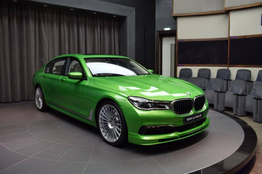 Alpina B7 Bi-Turbo Allrad in Java Green by Abu Dhabi Motors
