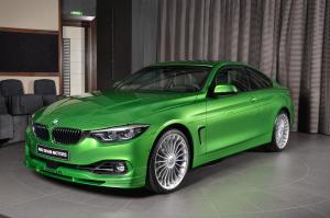 2017 Alpina B4 S Bi-Turbo Coupe Allrad Individual in Rallye Green by Abu Dhabi Motors
