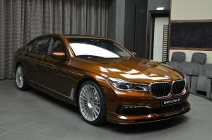 Alpina B7 Bi-Turbo Allrad in Chestnut Bronze by Abu Dhabi Motors