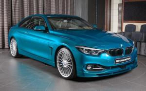 2018 Alpina B4 S Bi-Turbo in Atlantis Blue by Abu Dhabi Motors