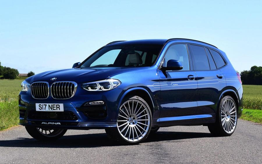 Alpina XD3 Allrad (G01) (UK) '2018