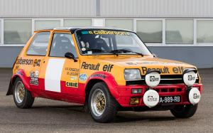 Renault 5 Alpine Rally Car 1977 года