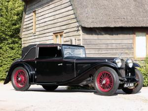 1933 Alvis Speed 20 SA Tourer by Vanden Plas