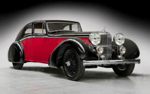 Alvis 4.3 Litre Sports Coupe by Bertelli 1935 года