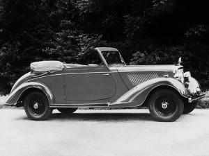 1937 Alvis Silver Crest Drophead Coupe by Cross & Ellis