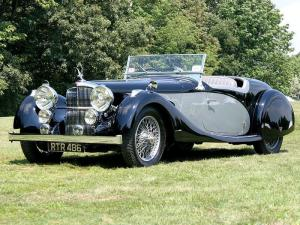 1937 Alvis Speed 25 Offord Roadster
