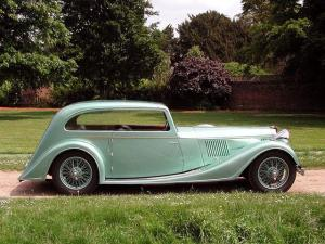 Alvis Speed 25 Coupe by Vanden Plas 1938 года