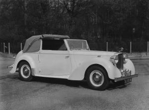 Alvis TA/14 Drophead Coupe by Tickford