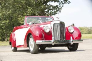 1952 Alvis TA21 Drophead Coupe by Tickford