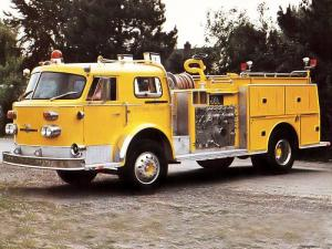 1972 American LaFrance 1000 Series Turbo Chief