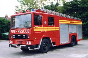 1988 Dennis RS 135 R3C Angloco Water Tender Ladder