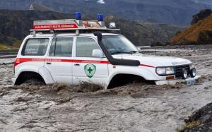 Arctic Trucks Toyota Land Cruiser 80 Medevac AT44 1995 года