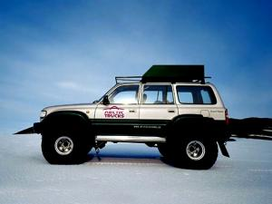 Arctic Trucks Toyota Land Cruiser AT44 Antarctica Expedition 1997 года