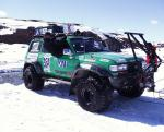 Arctic Trucks Toyota Land Cruiser AT44 Greenland Expedition 1999 года