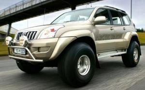 Arctic Trucks Toyota Land Cruiser Prado AT38 (J120W) '2003 - 09