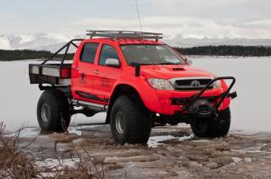 2011 Arctic Trucks Toyota Hilux AT44 South Pole Expedition
