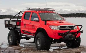 Arctic Trucks Toyota Hilux AT44 South Pole Expedition 2011 года