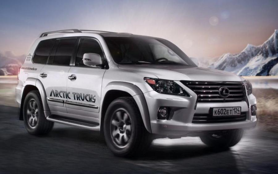 Arctic Trucks Lexus LX570 AT33 (URJ200) '2012 - 15