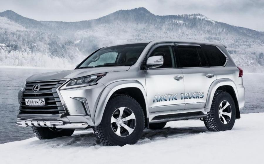 Arctic Trucks Lexus LX570 AT35 (URJ200) '2015