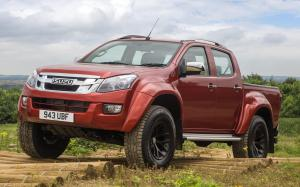 Arctic Trucks Isuzu D-Max AT35 Double Cab 2016 года (UK)