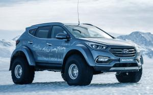 Arctic Trucks Hyundai Santa Fe AT38 2017 года