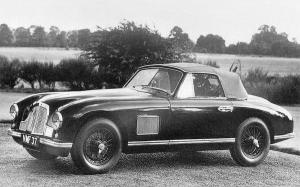 Aston Martin DB2 Drophead Coupe Prototype 1950 года