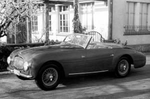 1952 Aston Martin DB2 Drophead Coupe by Graber
