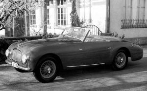 Aston Martin DB2 Drophead Coupe by Graber 1952 года