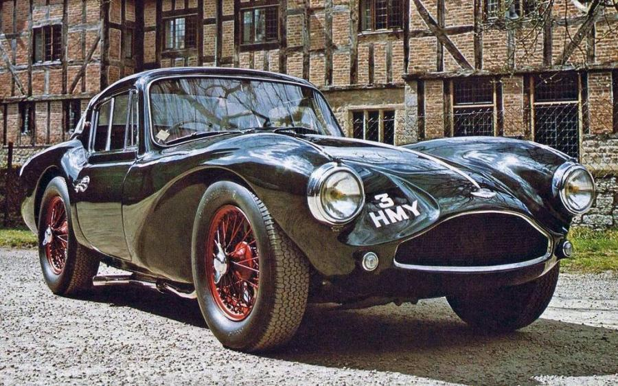 Aston Martin DB3 S Fixed Head Coupe '1954 - 55
